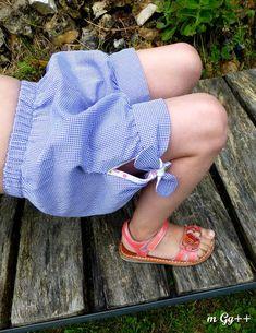 """Des Petits Shorts pour Fafa... (Patron issu des """"Nouveaux Intemporels pour enfants"""" d'Astrid Le Provost) par m Gg++"""