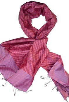 Sreyneang - Scarves from Cambodia - Handmade Silk Scarf from Cambodia (KRFS107), £39.90 (http://www.sreyneang.co.uk/handmade-silk-scarf-from-cambodia-krfs107/)