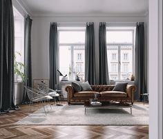 Paris Loft on Behance