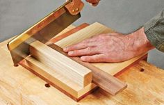 The bench hook is likely one of the most basic tools in the woodworker's arsenal.