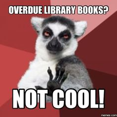 overdue library book - Google Search