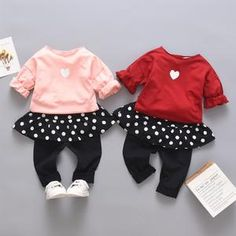 Show off your cute little princess with this cute leisure spring outfit for the coming seasons. Spring Outfits, Girl Outfits, Spring Clothes, Rudolph The Red, Long Sleeve Romper, Cute Baby Clothes, Spring Collection, Little Princess, Toddler Boys