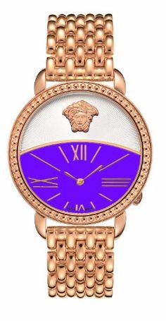 Versace Women's Rose Gold Watch