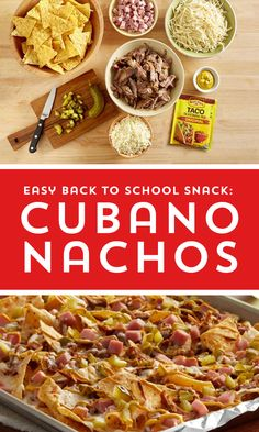 No need to book a trip to Havana to taste the bright flavors of Cuba – these tasty nachos will take you there without having to pay the airfare. Pork Recipes, Mexican Food Recipes, New Recipes, Crockpot Recipes, Chicken Recipes, Cooking Recipes, Favorite Recipes, Healthy Recipes, Ethnic Recipes