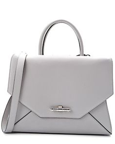 """Givenchy """"New Obsedia"""" Medium Leather Tote"""