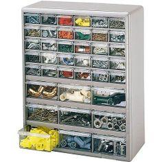Mechanic Storage Bin Organize Parts Shop Garage Cabinet Drawer Tool Box Toolbox