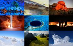 Our planet has some beautiful natural creations which are so amazing that its very hard to some-up everything in this post. Many of them were formed in a natural way, such as the eruption of a volc...