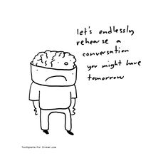 Comic by Toothpaste For Dinner: the brains idea Infj, Introvert, Toothpaste For Dinner, I Saw The Light, Photo Caption, Aspergers, Asd, Good Heart, Truth Quotes