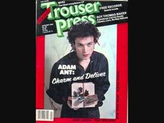 Adam Ant & Bow Wow Wow in the same issue? i hope they charged double! Adam Ant, Spooky Music, Magazine Shop, I Love Him, My Love, Music Magazines, Him Band, Post Punk, Queen