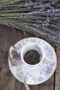 when it dries and the seeds start falling off collecting them and placing them in a tiny tea cup is a way to enjoy the fresh smell of lavend...