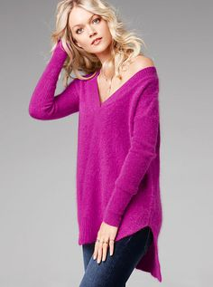 Angora Tunic Sweater $23,99