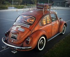 Faux Rust Finish on Car with Modern Masters Metal Effects | Rat Look | Modern Masters Cafe Blog Feature Project