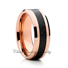 Rose Gold Tungsten Wedding Band,Tungsten Wedding Ring,Anniversary Band,Engagement Ring,Grooms Ring,Comfort Fit,His,Hers,8mm by CleanCastingJewelry on Etsy https://www.etsy.com/listing/120237680/rose-gold-tungsten-wedding-bandtungsten