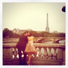 Romance in Paris...