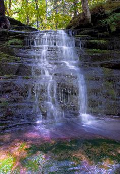 Pixley Falls in Boonville Gorge Park in upstate New York.
