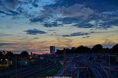 Spoor bij Lunetten Utrecht, Airplane View, Pictures