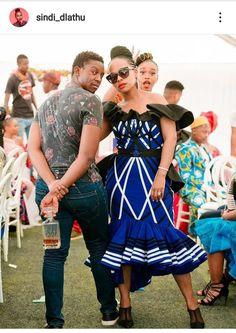 Sindi Dlathu's dress is on steroids