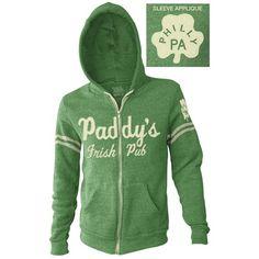 It`s Always Sunny In Philadelphia Paddy`s Pub Men`s Zip Hoodie