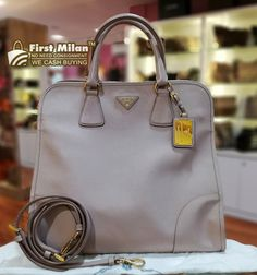 e0384ef13a PRADA Special Edition Saffiano Lux Shopping Tote. Best Price ~ RM2