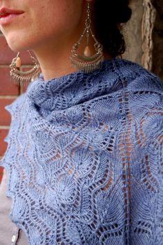 Christchurch Lace Shawl PDF Knitting Pattern