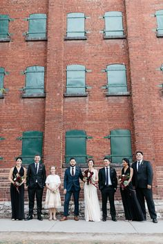distillery district wedding | Olive Photography