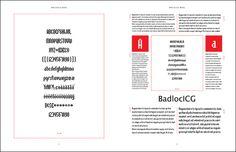 Chris Paveglio's Font Catalog - type specimen templates