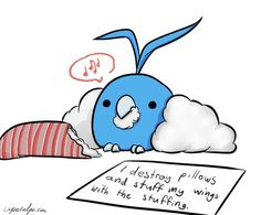 Pokemon Shaming| Swablu. LIKE AND FOLLOW ME IF YOU THINK THIS IS FUNNY