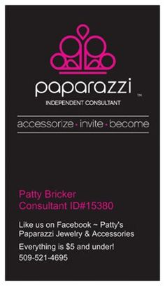 Paparazzi jewelry business card digital download paparazzi i love paparazzi accessories and love what i do thank you vistaprint for my amazing business cards colourmoves