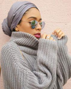 HH Spotted Club: Saufeeya 'Feeeeya' in the HH Essentials Maxi Modal Wr – Haute Hijab