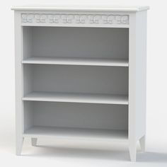 Florence Flutterby Low Bookcase in Angel White. Other colours available. See our website for more details.