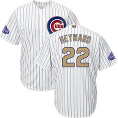 135c12a3b Chicago Cubs Jason Heyward Majestic Athletic Youth Gold Collection jer Sammy  Sosa