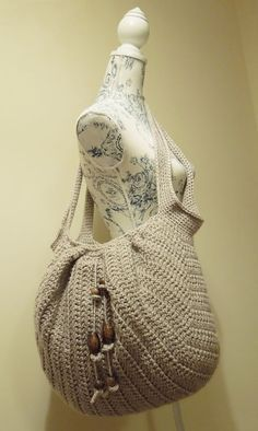 Awesome Crochet Market Boho Bag for Beginners. [Easy, Fast, Free Pattern]