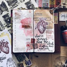 """89 Likes, 3 Comments - @mypaperprojects on Instagram: """"'What is stronger than the human heart, which shatters over and over again, and still lives?' -…"""""""