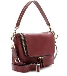 Anya Hindmarch Maxi Zip Mini Leather Shoulder Bag | mytheresa.com