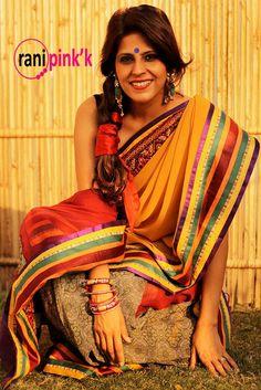 rani pinkk vintage saree collection