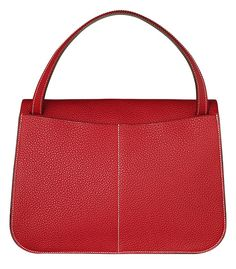 heremes bags - Hermes - Halzan red leather handbag. | Herm��s Halzan Bag ...