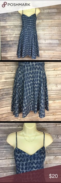 """🔴Aeropostale size Small sundress Beautiful with a full, swingy skirt.  Measures approx 33.5"""" from shoulder strap top to hem.  EUC.  Has stretchy back.   🛍 bundle and save!  Buy 2 or more items, receive a 25% discount automatically 🛍 Aeropostale Dresses"""