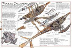 Episode 3: Wookie Catamaran