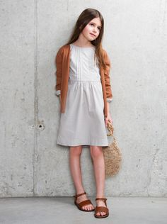 Natural Beauty - Designer Girls Fashion Looks - Clothing at Elias & Grace
