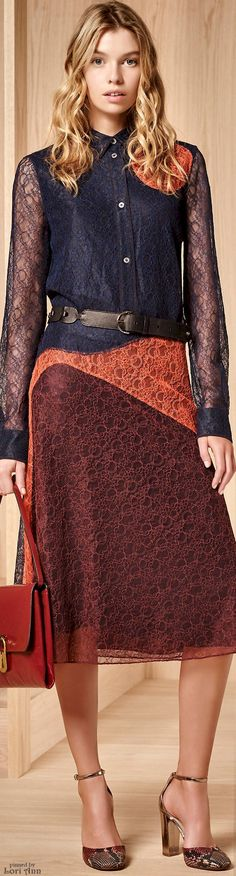 Trending Fall 2016 - Well Placed Lace (image features: Tory Burch Pre-Fall 2016)