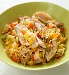 Bunter Reis mit Hähnchen Rezept - [ESSEN UND TRINKEN]