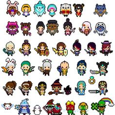 Another batch I made over the past few days =) classic + variation skins…