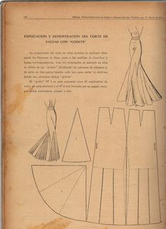 MOLDE - costurar com amigas - Picasa Web Albums # Vintage Sewing Techniques Techniques Couture, Sewing Techniques, Costume Année 30, Costumes, Vintage Sewing Patterns, Clothing Patterns, Sewing Hacks, Sewing Tutorials, Dress Tutorials