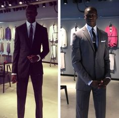 Gorgui getting ready for the draft