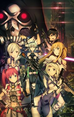 A continuation of GGO would be awesome \(^_^)/ | Sword Art Online Fatal Bullet