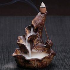 Creative Home Decor Lotus Pond Incense Burners