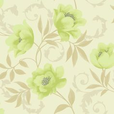 d3f08fef86b K2 Vintage Feature Wallpaper Lime Cream 10581 Lime Cream