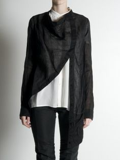 Moulage Shirt Jacket by Forme d' Expression