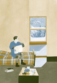 Interview with Illustrator, Daniel Lachenmeier on Jung Katz