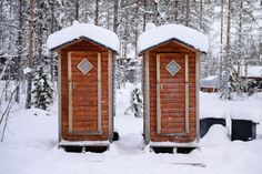 WC in Lapplan -20°C Lappland, Workshop, Cabin, House Styles, Outdoor, Home Decor, Photos, Outdoors, Atelier